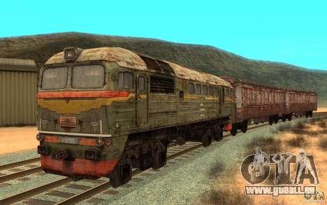 Un train de la jeu s.t.a.l.k.e.r. pour GTA San Andreas