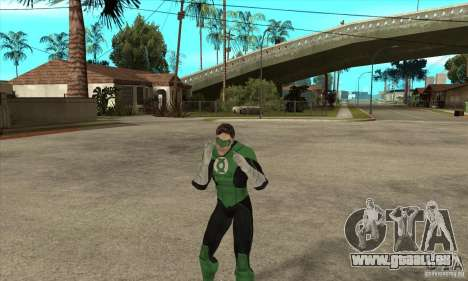 Green Lantern für GTA San Andreas fünften Screenshot