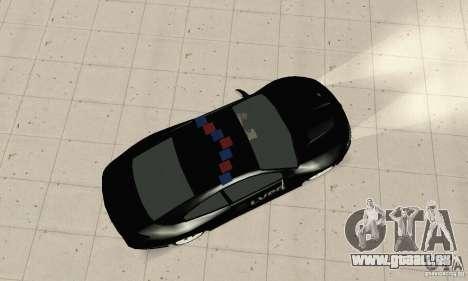 Pontiac GTO 2004 Cop pour GTA San Andreas sur la vue arrière gauche