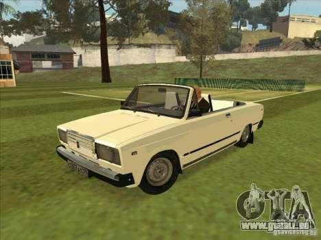 VAZ 2107 convertible pour GTA San Andreas