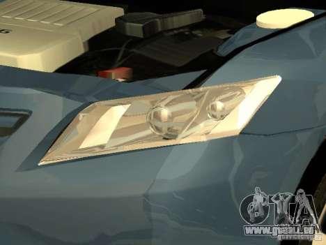 Toyota Camry 2009 für GTA San Andreas Seitenansicht