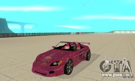 Honda S2000 The Fast and Furious für GTA San Andreas linke Ansicht