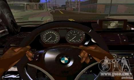 BMW 135i pour GTA San Andreas vue de côté