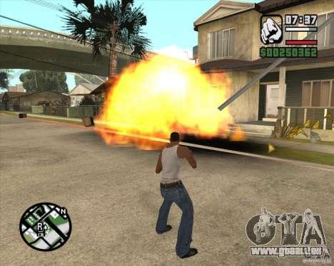 Blast für GTA San Andreas zweiten Screenshot