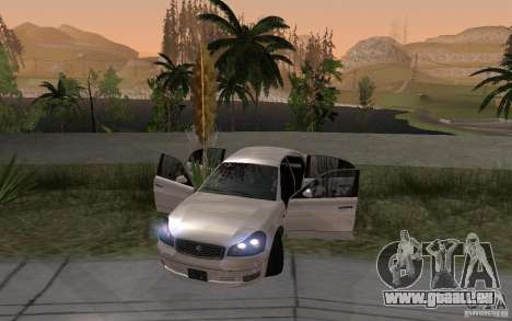 Car crash from GTA IV pour GTA San Andreas troisième écran