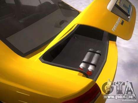 Ford Falcon für GTA San Andreas obere Ansicht
