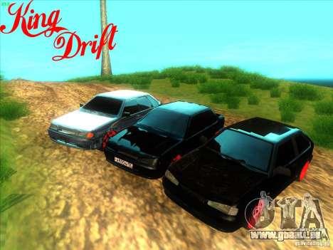 ВАЗ 2114 diable Style pour GTA San Andreas vue de droite