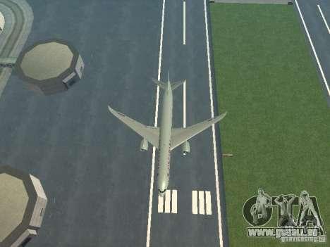 Boeing 787 Dreamliner Air Canada für GTA San Andreas obere Ansicht