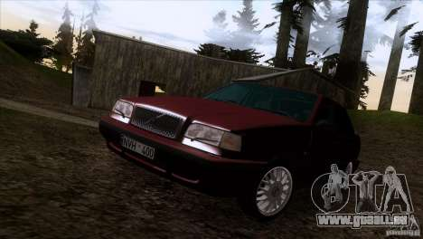 Volvo 850 Final Version für GTA San Andreas obere Ansicht