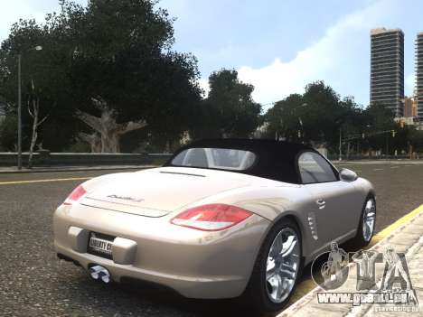 Porsche Boxster S 2010 EPM pour GTA 4 est une gauche