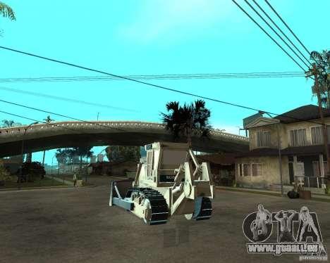 Komatsu D355A pour GTA San Andreas sur la vue arrière gauche