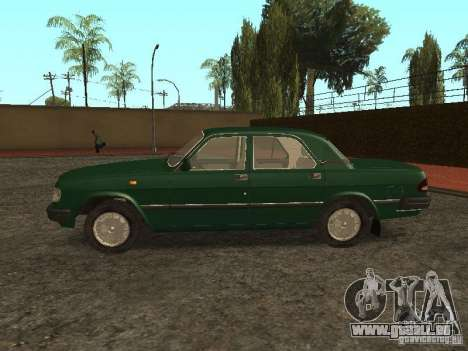 GAZ 3110 v. 2 für GTA San Andreas linke Ansicht