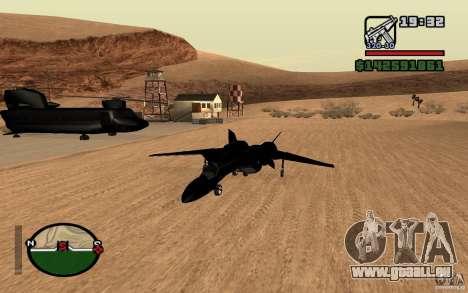 Y-f19 macross Fighter für GTA San Andreas