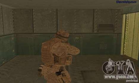 Peau Marine pour GTA San Andreas troisième écran