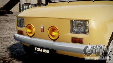 Fiat 126p 1976 pour le moteur de GTA 4