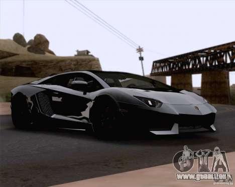 Lamborghini Aventador LP700-4 2011 für GTA San Andreas Seitenansicht