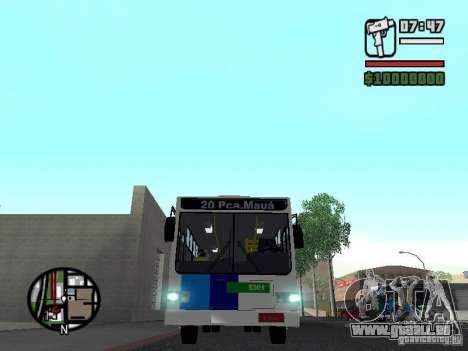Cobrasma Monobloco Patrol II Trolerbus für GTA San Andreas Innenansicht