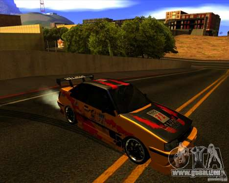 GTA VI Futo GT custom pour GTA San Andreas vue arrière
