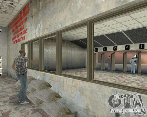 Un animé magasin Ammu-Nation v3 (Final) pour GTA San Andreas quatrième écran