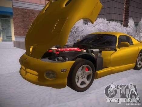 Dodge Viper 1996 für GTA San Andreas rechten Ansicht