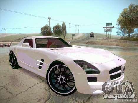 Mercedes-Benz SLS AMG 2010 Hamann Design pour GTA San Andreas vue de droite