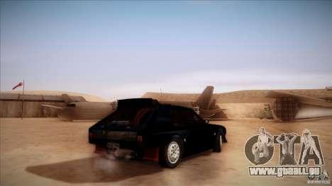 Lancia Delta S4 pour GTA San Andreas laissé vue