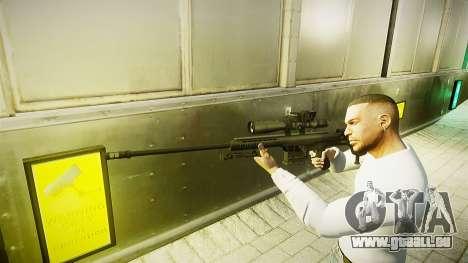 Barrett 98 b (sniper) pour GTA 4 secondes d'écran