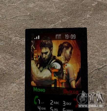 Nouveaux thèmes pour votre téléphone pour GTA 4