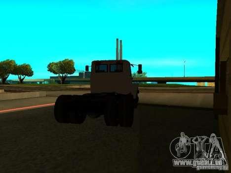 3309 GAZ tracteur pour GTA San Andreas sur la vue arrière gauche