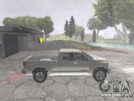 Toyota Tundra pour GTA San Andreas vue de droite