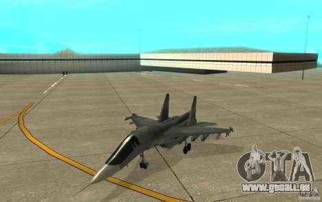 Le Su-34 pour GTA San Andreas laissé vue