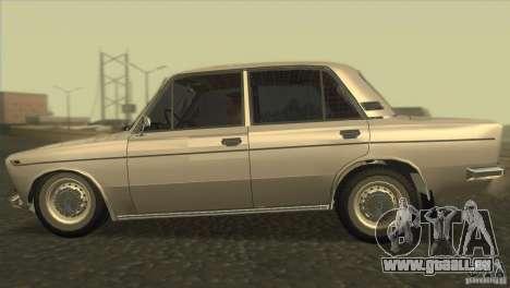 Resto 2103 VAZ pour GTA San Andreas laissé vue