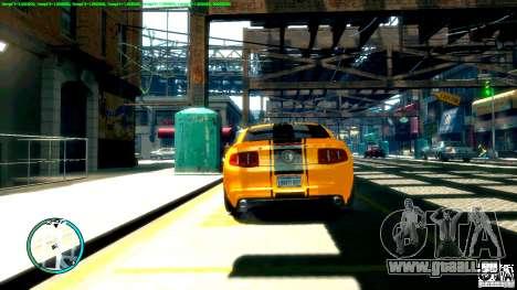 Shelby GT500 Super Snake 2011 pour GTA 4 est un droit