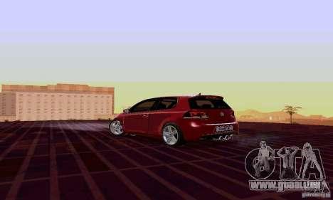 Volkswagen Golf GTI 2011 pour GTA San Andreas laissé vue
