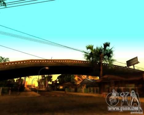 ENB For medium PC pour GTA San Andreas quatrième écran