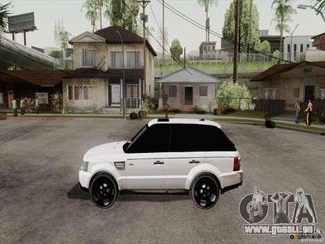 Range Rover Tuning pour GTA San Andreas vue de droite