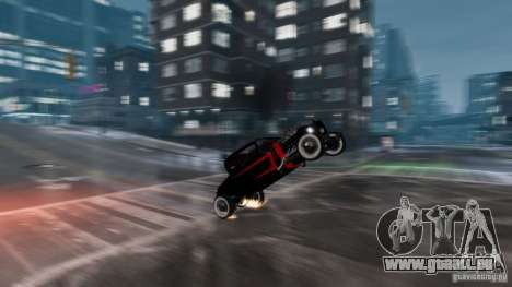 Smith 34 Hot Rod für GTA 4 Innenansicht