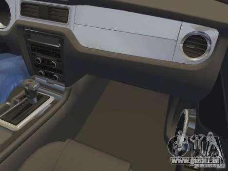 Ford Mustang 2011 GT für GTA San Andreas Räder