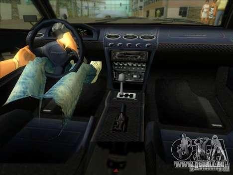 Infernus aus GTA IV für GTA Vice City Rückansicht