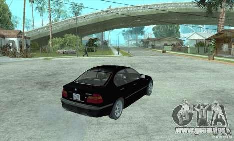BMW 325i für GTA San Andreas linke Ansicht