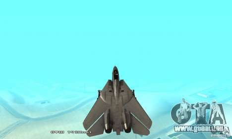 F14W Super Weirdest Tomcat Skin 1 für GTA San Andreas Innen