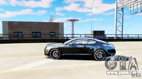 Bentley Continental SuperSports v2.5 für GTA 4 linke Ansicht