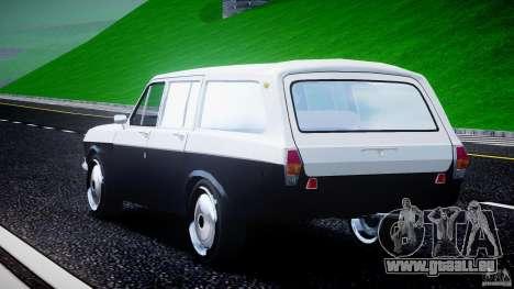GAZ 24-12 1986-1994 Stock Edition v2.2 pour GTA 4 est un côté