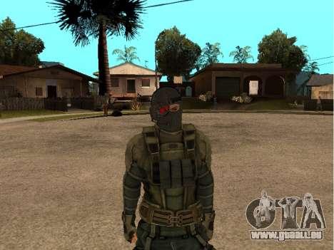 Der Haut-Armee-Ingenieur für GTA San Andreas dritten Screenshot