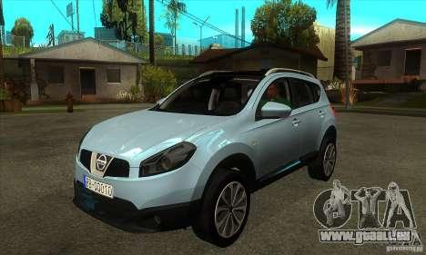 Nissan Qashqai 2011 pour GTA San Andreas