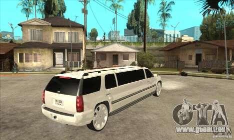 GMC Yukon 2008 für GTA San Andreas rechten Ansicht
