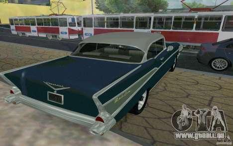 Chevrolet Bel Air 1957 pour GTA San Andreas vue de droite