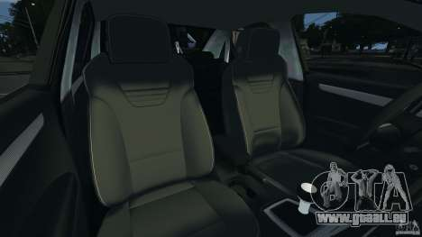 Audi RS4 EmreAKIN Edition pour GTA 4 est une vue de l'intérieur