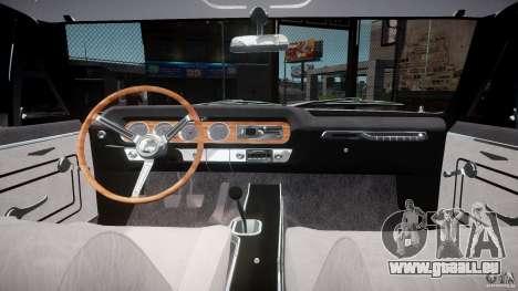 Pontiac GTO 1965 v3.0 pour GTA 4 Vue arrière