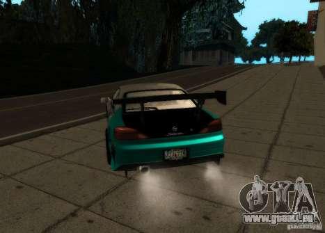 Nissan Silvia S15 pour GTA San Andreas sur la vue arrière gauche
